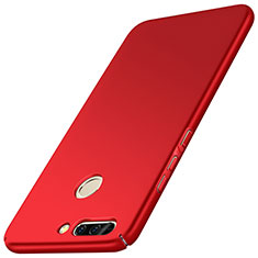 Custodia Plastica Rigida Opaca M01 per Huawei Honor V9 Rosso