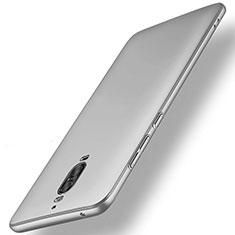 Custodia Plastica Rigida Opaca M01 per Huawei Mate 9 Pro Argento