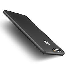 Custodia Plastica Rigida Opaca M01 per Huawei P9 Plus Nero