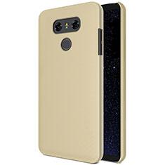 Custodia Plastica Rigida Opaca M01 per LG G6 Oro