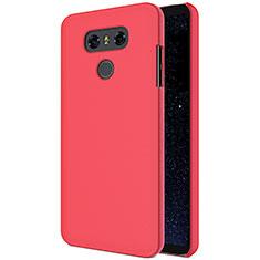 Custodia Plastica Rigida Opaca M01 per LG G6 Rosso