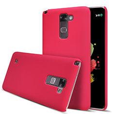 Custodia Plastica Rigida Opaca M01 per LG Stylus 2 Plus Rosso