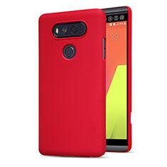 Custodia Plastica Rigida Opaca M01 per LG V20 Rosso