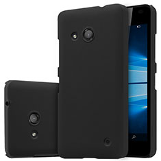 Custodia Plastica Rigida Opaca M01 per Microsoft Lumia 550 Nero