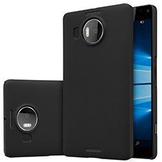 Custodia Plastica Rigida Opaca M01 per Microsoft Lumia 950 XL Nero