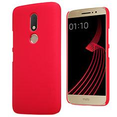 Custodia Plastica Rigida Opaca M01 per Motorola Moto M XT1662 Rosso