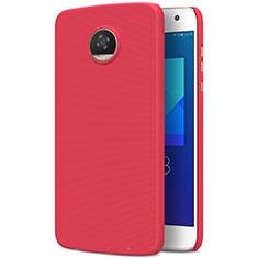 Custodia Plastica Rigida Opaca M01 per Motorola Moto Z2 Play Rosso