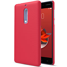 Custodia Plastica Rigida Opaca M01 per Nokia 5 Rosso