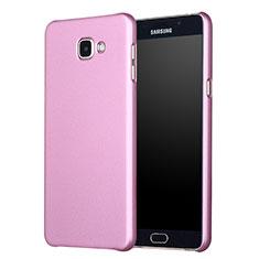 Custodia Plastica Rigida Opaca M01 per Samsung Galaxy A7 (2017) A720F Oro Rosa