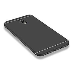 Custodia Plastica Rigida Opaca M01 per Samsung Galaxy J7 Plus Nero
