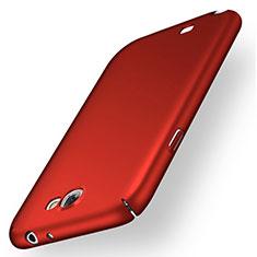 Custodia Plastica Rigida Opaca M01 per Samsung Galaxy Note 2 N7100 N7105 Rosso