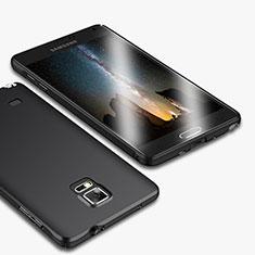 Custodia Plastica Rigida Opaca M01 per Samsung Galaxy Note 4 Duos N9100 Dual SIM Nero