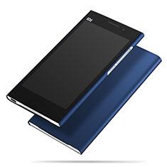 Custodia Plastica Rigida Opaca M01 per Xiaomi Mi 3 Blu