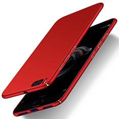 Custodia Plastica Rigida Opaca M01 per Xiaomi Mi Note 3 Rosso