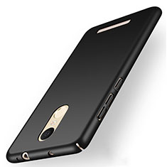Custodia Plastica Rigida Opaca M01 per Xiaomi Redmi Note 3 MediaTek Nero