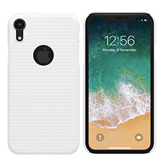Custodia Plastica Rigida Opaca M02 per Apple iPhone XR Bianco