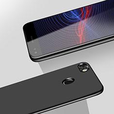 Custodia Plastica Rigida Opaca M02 per Huawei Enjoy 7 Nero