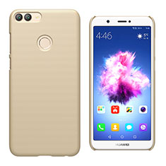 Custodia Plastica Rigida Opaca M02 per Huawei Enjoy 7S Oro