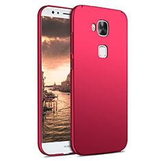 Custodia Plastica Rigida Opaca M02 per Huawei GX8 Rosso
