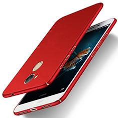 Custodia Plastica Rigida Opaca M02 per Huawei Honor V9 Play Rosso