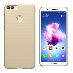 Custodia Plastica Rigida Opaca M02 per Huawei P Smart Oro