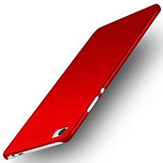 Custodia Plastica Rigida Opaca M02 per Huawei P8 Max Rosso