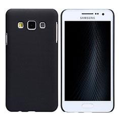 Custodia Plastica Rigida Opaca M02 per Samsung Galaxy A3 Duos SM-A300F Nero