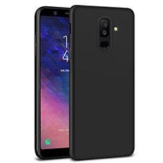 Custodia Plastica Rigida Opaca M02 per Samsung Galaxy A6 Plus (2018) Nero
