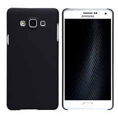 Custodia Plastica Rigida Opaca M02 per Samsung Galaxy A7 Duos SM-A700F A700FD Nero