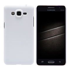 Custodia Plastica Rigida Opaca M02 per Samsung Galaxy Grand Prime 4G G531F Duos TV Bianco