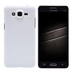 Custodia Plastica Rigida Opaca M02 per Samsung Galaxy Grand Prime SM-G530H Bianco