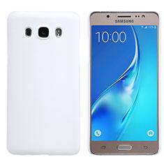 Custodia Plastica Rigida Opaca M02 per Samsung Galaxy J5 (2016) J510FN J5108 Bianco