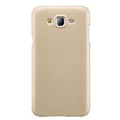 Custodia Plastica Rigida Opaca M02 per Samsung Galaxy J7 SM-J700F J700H Oro