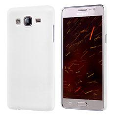 Custodia Plastica Rigida Opaca M02 per Samsung Galaxy On5 G550FY Bianco