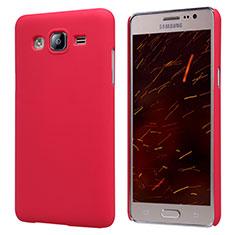 Custodia Plastica Rigida Opaca M02 per Samsung Galaxy On5 G550FY Rosso