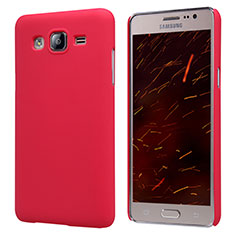 Custodia Plastica Rigida Opaca M02 per Samsung Galaxy On5 Pro Rosso