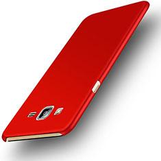 Custodia Plastica Rigida Opaca M02 per Samsung Galaxy On7 G600FY Rosso