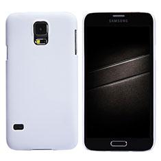 Custodia Plastica Rigida Opaca M02 per Samsung Galaxy S5 Duos Plus Bianco