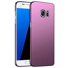 Custodia Plastica Rigida Opaca M02 per Samsung Galaxy S7 G930F G930FD Viola