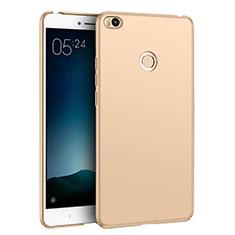 Custodia Plastica Rigida Opaca M02 per Xiaomi Mi Max 2 Oro