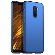 Custodia Plastica Rigida Opaca M02 per Xiaomi Pocophone F1 Blu