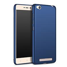 Custodia Plastica Rigida Opaca M02 per Xiaomi Redmi 3 Blu