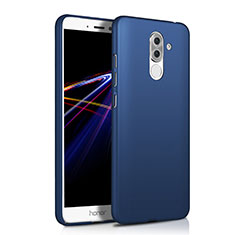 Custodia Plastica Rigida Opaca M03 per Huawei Honor 6X Blu