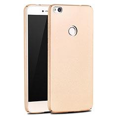 Custodia Plastica Rigida Opaca M03 per Huawei Honor 8 Lite Oro