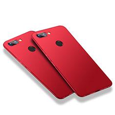 Custodia Plastica Rigida Opaca M03 per Huawei Honor 9i Rosso