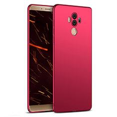 Custodia Plastica Rigida Opaca M03 per Huawei Mate 10 Pro Rosso