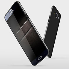 Custodia Plastica Rigida Opaca M03 per Samsung Galaxy A7 Duos SM-A700F A700FD Nero