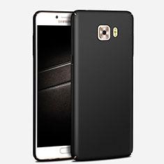 Custodia Plastica Rigida Opaca M03 per Samsung Galaxy C7 Pro C7010 Nero