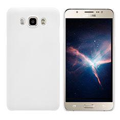 Custodia Plastica Rigida Opaca M03 per Samsung Galaxy J7 (2016) J710F J710FN Bianco