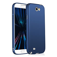 Custodia Plastica Rigida Opaca M03 per Samsung Galaxy Note 2 N7100 N7105 Blu